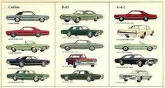 1966 Cutlass,F85,& 442 line
