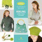 Hekling - Gammel teknikk i ny design Lilly Secilie Brandal, Bente Myhrer #gyldendal