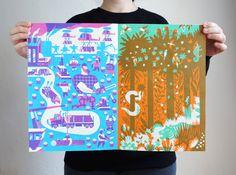 Forest - Till Hafenbrak Illustration