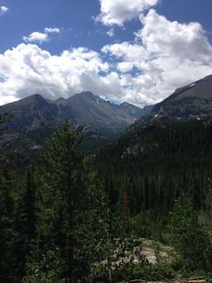 Rocky Mountain National Park - absolutely beautiful