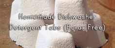 good homemade dishwasher detergent recipe for a while now. They are pretty easy to find, but the problem is almost all of them have borax in them. I don't generally have a problem with borax as natural cleaning agent, but it is not something that …
