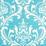 Ozborne Girly Blue Twill by Premier Prints - Drapery Fabric