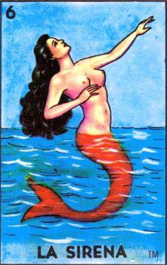 La Sirena: Con los cantos de sirena no te vayas marear.