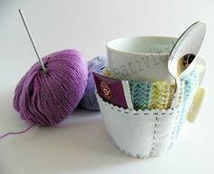 Copri tazza in lana | Hobby e Creatività