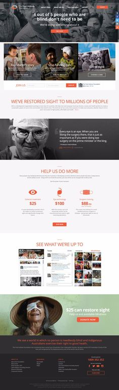 35 Best Charity and Non Profit Websites Inspiration - DesignYep Website Design Inspiration, Web Design Inspiration, Business Plan Layout, Charity Websites, Organization Websites, Website Layout, Website Ideas, Web Layout, Fundraising Sites