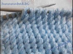 Interesting diagonal stitch -- the video goes on a little long -- Ill have to try it diyagonalörnek