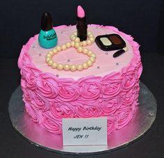Birthday Cake by Cecy Huezo and Marina Lamb . www.delightfulcakesbycecy.com