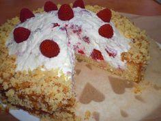 Rezept: Raffaello-Himbeer-Torte
