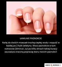 great trick for brittle nails! - -A great trick for brittle nails! Beauty Tips For Face, Beauty Secrets, Beauty Hacks, Skin Care Regimen, Skin Care Tips, Brittle Nails, Get Rid Of Blackheads, Aloe Vera Gel, Beauty Routines