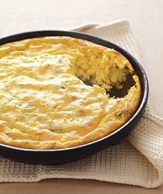 Corn Spoon Bread Fresh corn kernels provide extra texture and juicy sweetness to this comforting spoon bread. Serve warm or at room temperature