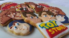 Decorated Cookies - Toy Story Cookies