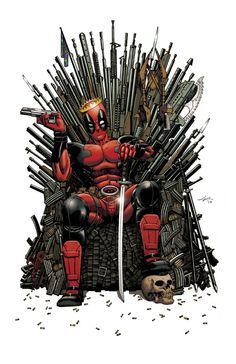 Game of… Deadpool? by Ian Navarro <-- Yeah. Joffrey would be dead basically immediately… Deadpool for King!