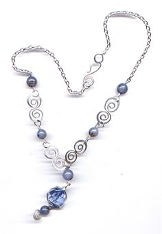 Free Wire Wrapping Patterns   wire with the excess wires used as top spiral decorations