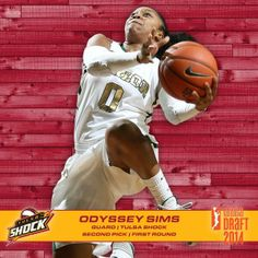 Congrats to #Baylor's Odyssey Sims, the 2nd overall pick in the 2014 WNBA Draft! #SicEm