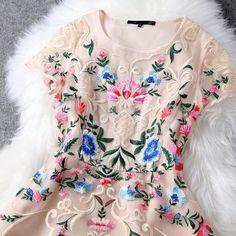 Luxury Designer Gorgeous Embroidere..