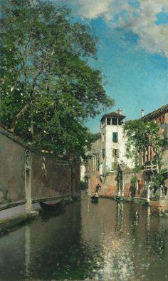 Canal in Venice | The Art Institute of Chicago