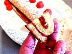 Recette du Roulé à la fraise!!!!!