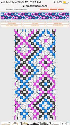 square pattern - New Sites Thread Bracelets, Embroidery Bracelets, String Bracelets, String Bracelet Patterns, Diy Friendship Bracelets Patterns, Summer Bracelets, Bracelet Crafts, Bracelet Tutorial, Bracelet Designs