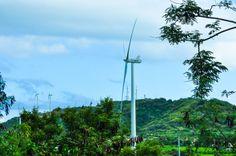 Finca de Viento Santa Isabel wind turbines, Puerto Rico