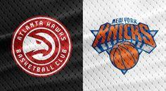 NBA Preseasons and Regular Seasons Atlanta Hawks vs New York Knicks NBA Preseasons October Atlanta Hawks, New York Knicks, Replay, Chicago Cubs Logo, Nba, Finding Yourself, October, Seasons, Live