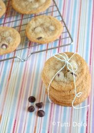 brown butter chocolate chip malt cookies with @Laura | Tutti Dolci
