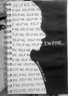 Help me :( I'm fine :)