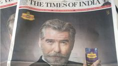 Pierce Brosnan demands removal of his image from India ad - BBC News