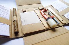 kit cuaderno cosido japonés