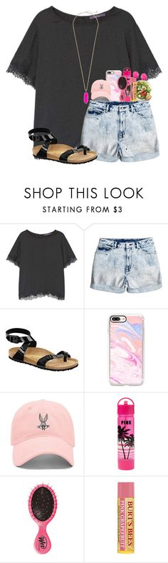 """follow my group account with my fav"" by karinaceleste ❤ liked on Polyvore featuring MANGO, Birkenstock, Casetify, Forever 21 and Kendra Scott"