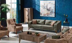 Canapea Extensibila 3 locuri Lima Green K1 #homedecor #inspiration #interiordesign #livingroom #decor #sofa Sofa, Couch, Living Room, Interior Design, Green, Modern, Inspiration, Furniture, Home Decor