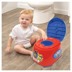 Nickelodeon Paw Patrol Toilet Training Seat - Red/Blue