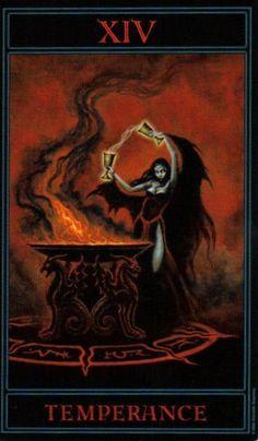 The Gothic Tarot: Temperance