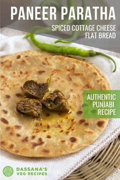 Paneer paratha is a popular Indian flatbread made with whole wheat flour and cottage cheese stuffing. Paneer paratha is one of the many popular paratha varieties from Punjab. It's an all time favorite paratha at home and is served in most restaurants as well as Punjabi dhabas (road side eateries).