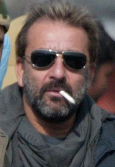 Desi Indian Bollywood Actor Sanjay Dutt b. 29 July 1959 is an Indian film actor, producer and politician son of legendary Bollywood film actors Sunil Dutt and Nargis. He studied at the Lawrence School, Sanawar near Kasauli. He has married 3 times and has three children.