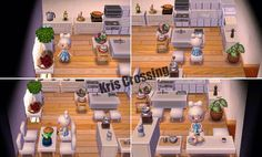 Kitchen Ideas Acnl.Pin By Anais Casamayor On Animal Crossing Happy Home Designer