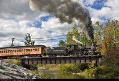 RailPictures.Net Photo: ARA 18 Arcade & Attica Railroad Steam 2-8-0 at Arcade, New York by Mitch Goldman