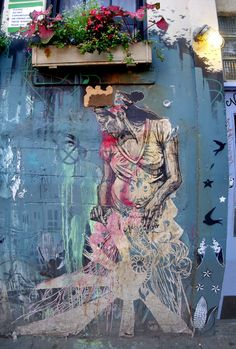 Artist: Swoon - NY Lower East Side