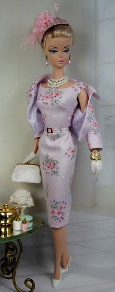 Delicate Blooms for Silkstone Barbie on Etsy now