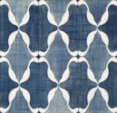 Perennial Ceramic Art Tile - Ann Sacks Tile & Stone - eclectic - kitchen tile - other metro - Rebekah Zaveloff Eclectic Tile, Eclectic Kitchen, Art Installation, Tile Patterns, Textures Patterns, House Tiles, Style Tile, Textiles, Kitchen Tiles
