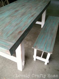 Ideas For Repurposed Furniture Diy Table Paint Chalk Paint Furniture, Furniture Projects, Home Projects, Diy Furniture, Chalk Paint Table, Furniture Painting Techniques, Paint Techniques, Furniture Plans, Furniture Making
