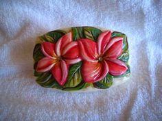flores sabonete glicerina,tintas,verniz especial entalhe á mão ...