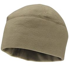 b33f371a145 Amazon.com   Watch Cap (Black)   Black Fleece Cap   Sports  amp