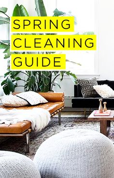 Spring Cleaning Tips for EVERY Room—Your Ultimate Low-Stress, Super-Efficient Spring Cleaning Plan—Save this handy checklist for later + click-through for more lists and details on how to organize, de-clutter, and tidy up this Spring!