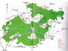 Map of Broceliande Forest - Brittany - Reviews of Broceliande - TripAdvisor
