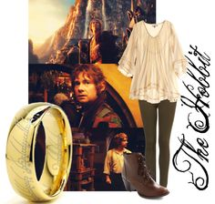 """The Hobbit"" by kateluella ❤ liked on Polyvore"