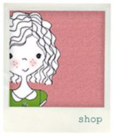 Love this girl illustration - colours & style of casual ink drawing. Sweet!  From Ginger&George blog