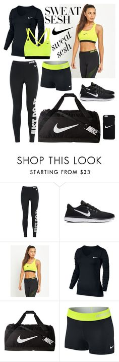 """#nike"" by sophie01234 ❤ liked on Polyvore featuring NIKE"