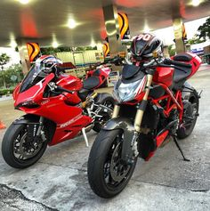 Ducati 899 panigale and Ducati streetfighter