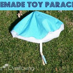Homemade Parachute Toy Tutorial