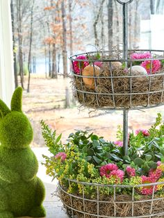 4 simple and easy tips to create a beautiful Spring arrangement - Duke Manor Farm Spring Home Decor, Spring Crafts, Seasonal Decor, Holiday Decor, Holiday Ideas, Manor Farm, Spring Tree, Easter Crafts, Easter Ideas